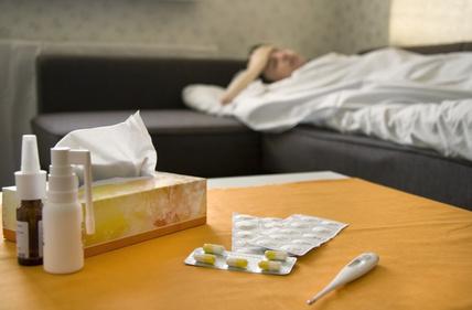 Therapie bei einer Erkältung