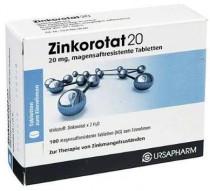 Zinkorotat 20 Tabletten